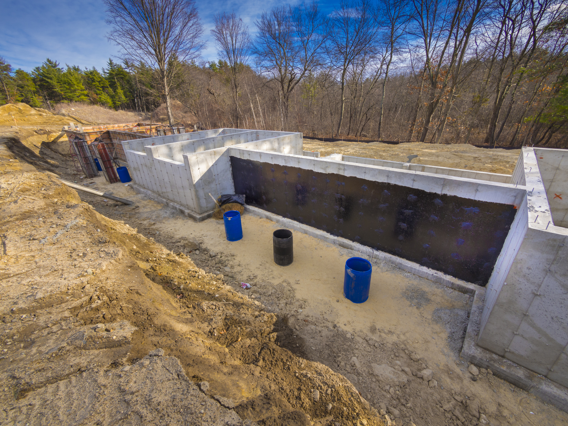 Professional basement waterproofing services olathe for Basement foundation construction